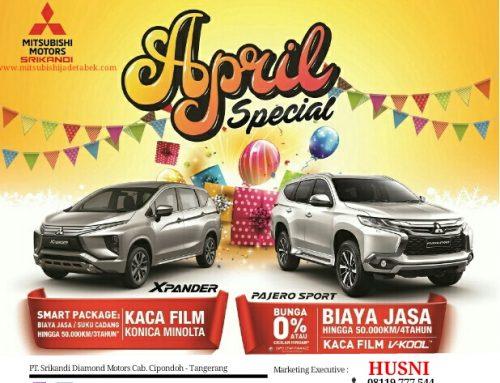 Promo Mitsubishi Bulan April