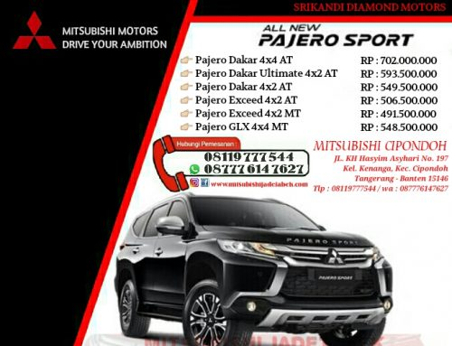 Harga Mitsubishi Pajero