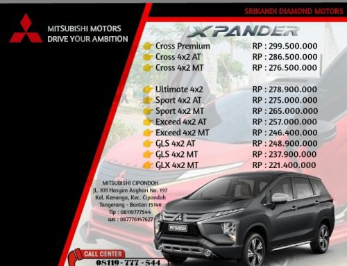 Harga New Mitsubishi Xpander